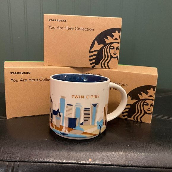 """Starbucks """"You are here collection"""" TWIN CITIES"""